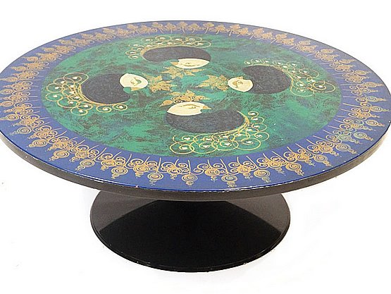 20th Century Decorative Arts: knoll tulip table