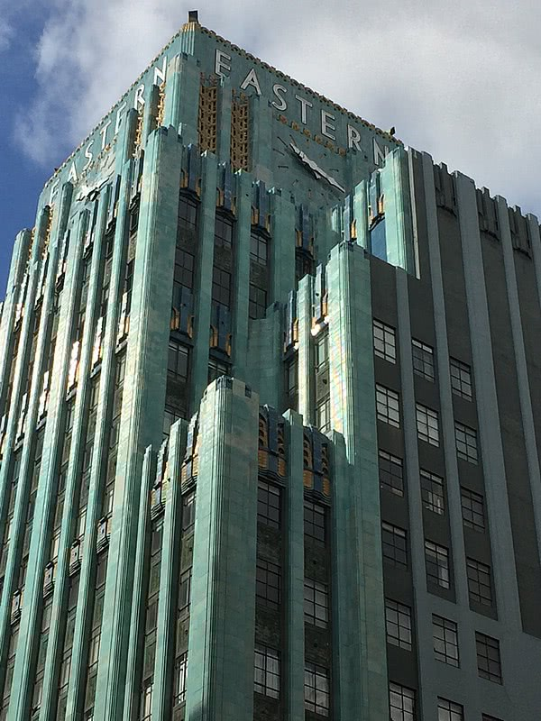 Down Town Los Angeles Art Deco Eastern Columbia Building