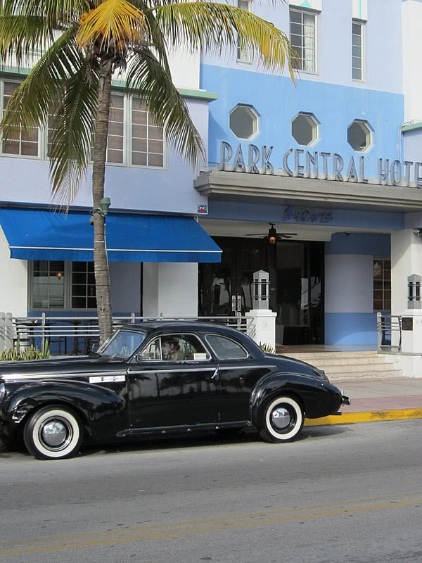miami south beach art deco  park central hotel