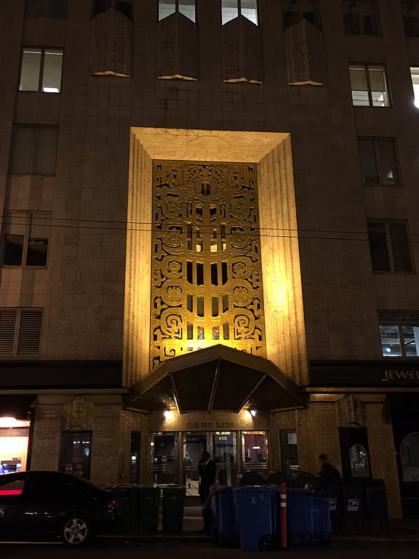 450 Sutter Street art deco san francisco