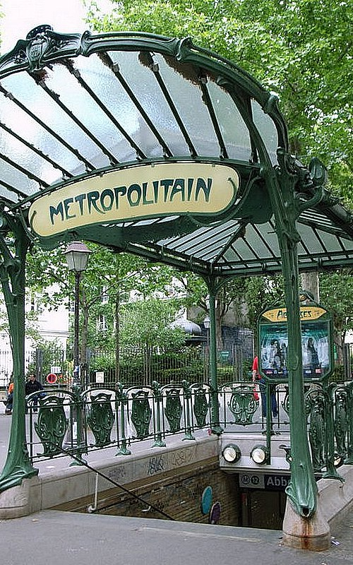 hector guimard paris metro photo 1