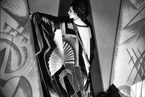 Sonia Delaunay, 1920 - photo by edward steichen