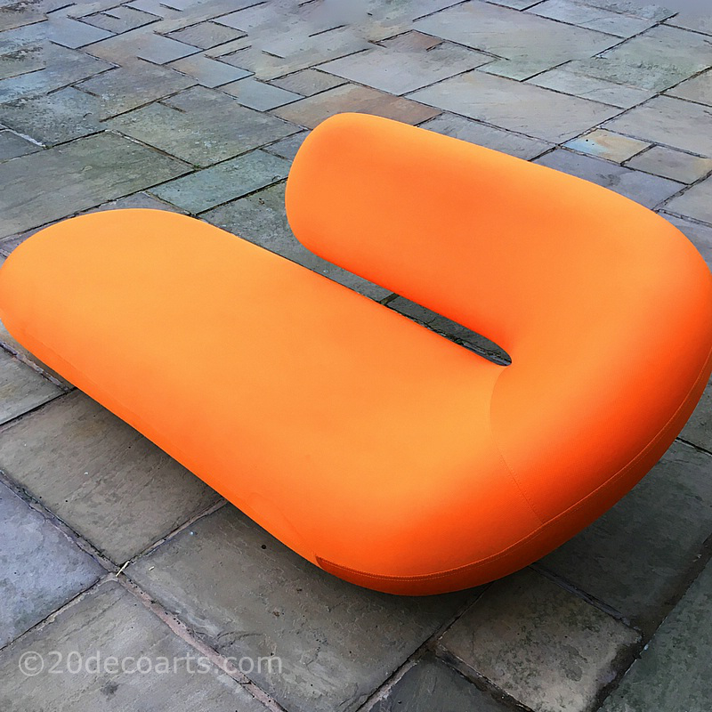 Cleopatra Chaise Longue Designed by Geoffrey Harcourt for Artifort c1970
