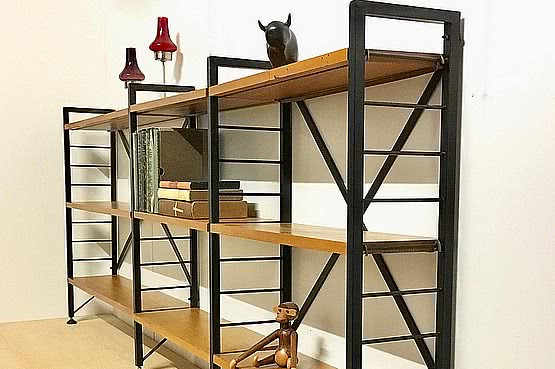 ☑️ 20th Century Decorative Arts | ladderax shelving unit