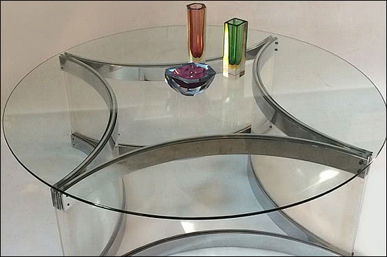 ☑️ 20th Century Decorative Arts |Alessandro Albrizzi table c 1970