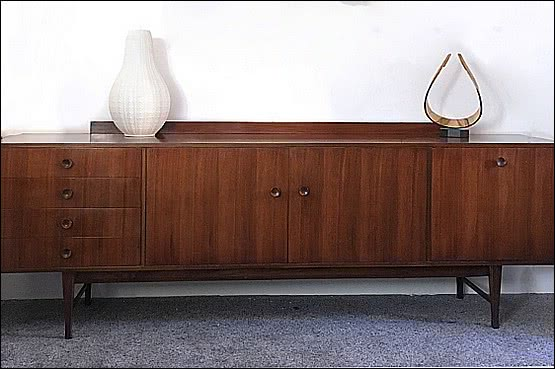 ☑️ 20th Century Decorative Arts |meredrew mid-century modern sideboard 1960s