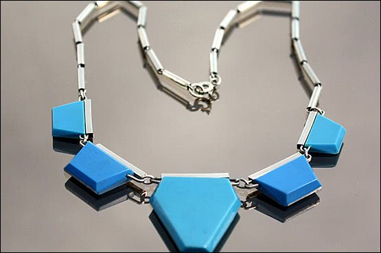 ☑️ 20th Century Decorative Arts |jacob bengel necklace