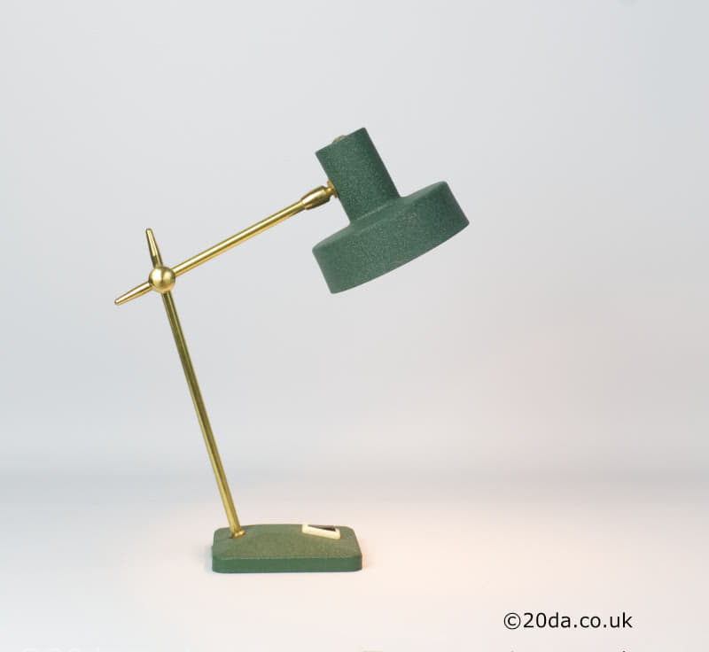 20th Century Decorative Arts |french mid century modern desk lamp