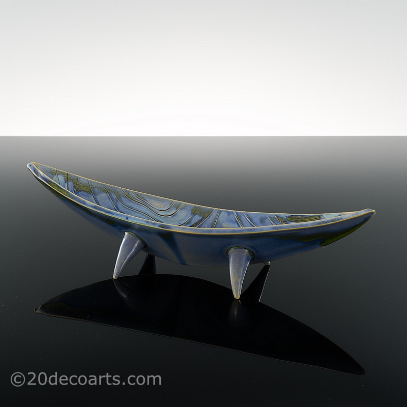 20th Century Decorative Arts |Mid-Century Modern Ceramic Dish 1960s,