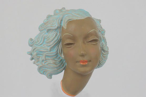 ☑️ Goldscheider Art Deco Wall Mask | 20th Century Decorative Arts