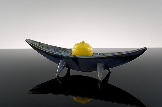 ☑️ 20th Century Decorative Arts |1950s abstract ceramic centrepiece