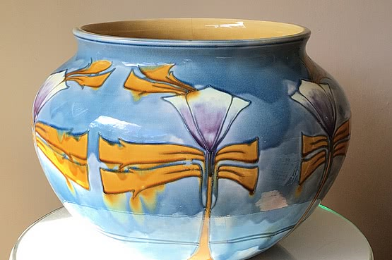 ☑️ 20th Century Decorative Arts | Minto secessionist jardiniere