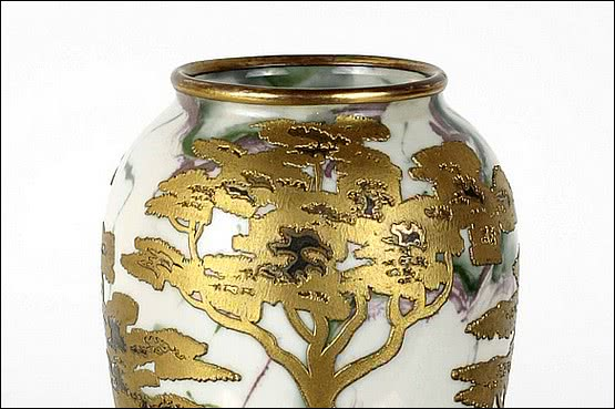 ☑️ 20th Century Decorative Arts |heubach vase art nouveau