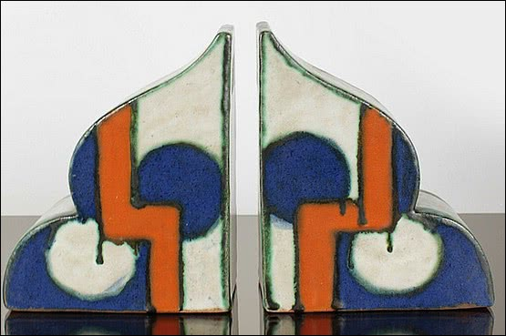 ☑️ 20th Century Decorative Arts |art deco bookends goldscheider