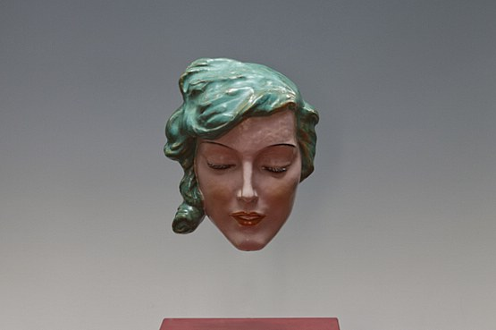 ☑️keramos art deco wall mask vienna
