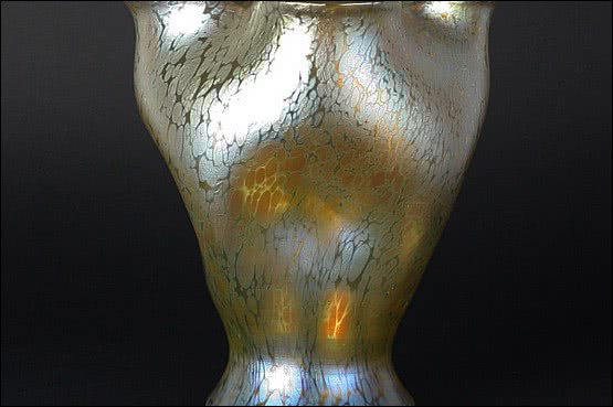 ☑️ 20th Century Decorative Arts |loetz candia papillon art nouveau glass vase