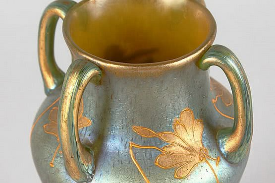20th Century Decorative Arts: loetz art nouveau glass