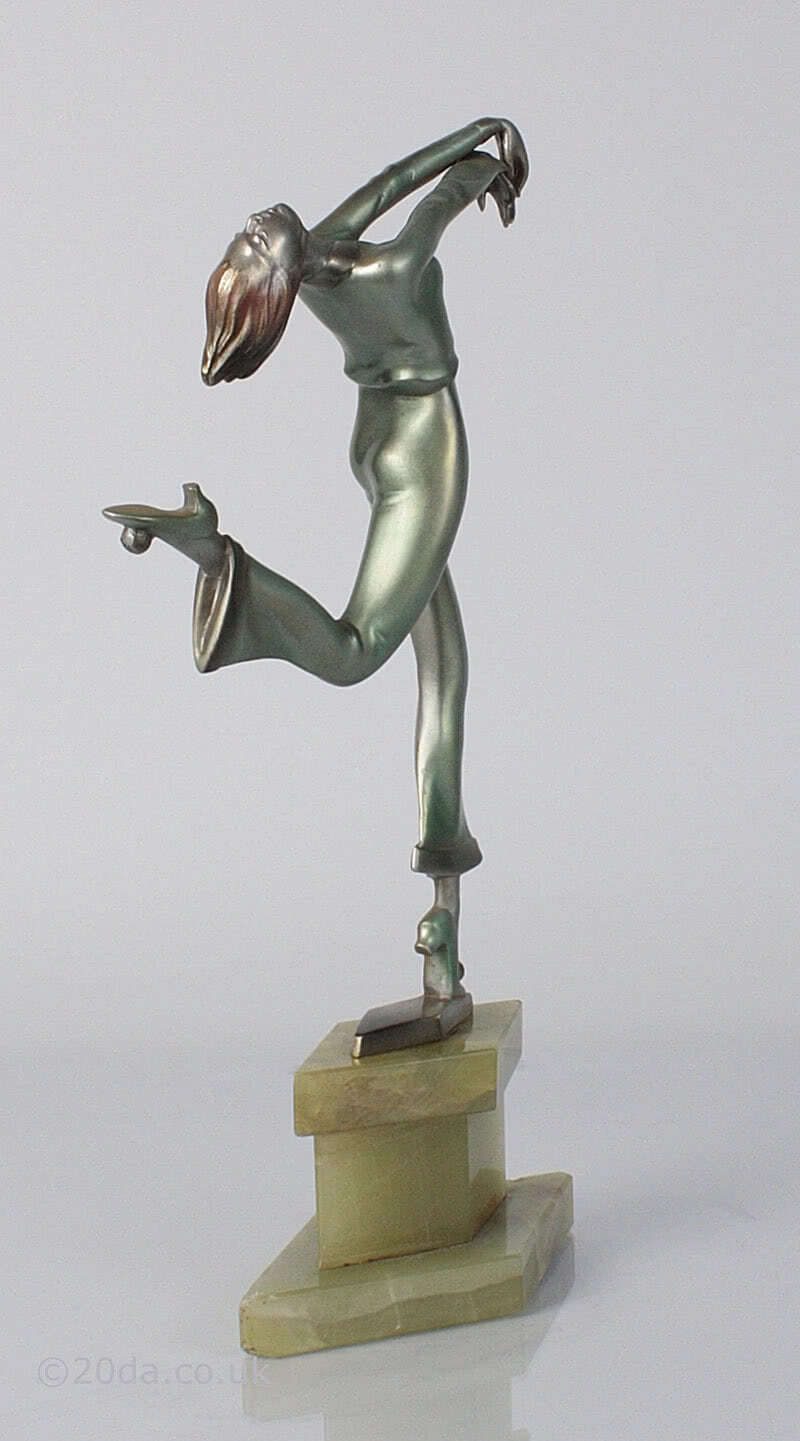 Adolph - art deco dancing lady figurine