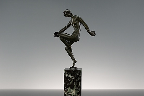 ☑️french bronze art deco sculptures for sale
