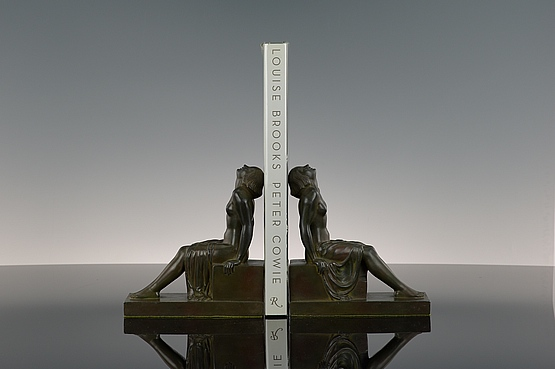 ☑️ janle max le verrier art deco bookends