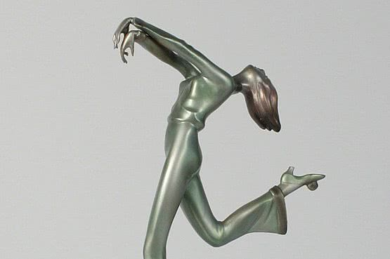 ☑️ 20th Century Decorative Arts | art deco bronze statue for sale
