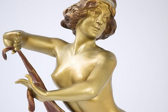 ☑️ 20th Century Decorative Arts |Art Deco Bronze Figures For Sale
