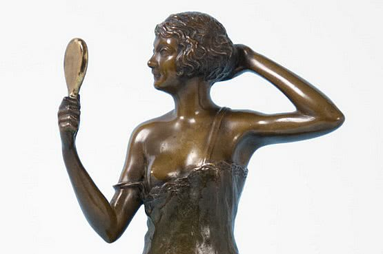☑️ 20th Century Decorative Arts |Bruno Zach Bronze for Sale