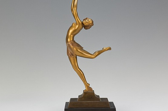 ☑️ 20th Century Decorative Arts |art deco ugo cipriani figure 1930s