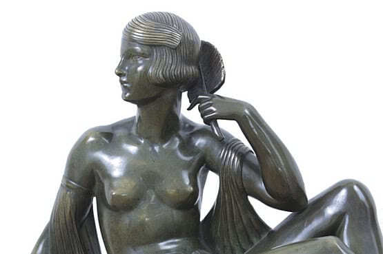 ☑️ 20th Century Decorative Arts |descomps art deco statues 1930s