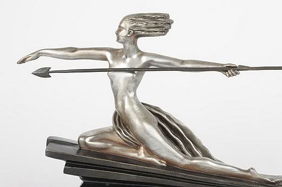 ☑️ 20th Century Decorative Arts |art deco bouraine bronze