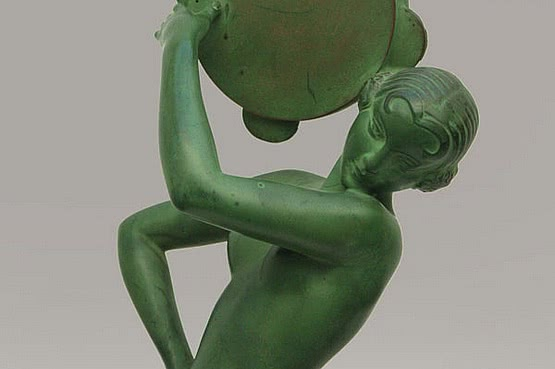 ☑️ 20th Century Decorative Arts |art deco fayral spelter