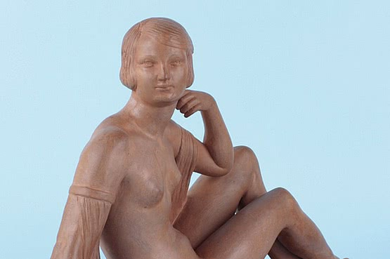 ☑️ 20th Century Decorative Arts |art deco joe descomps figure