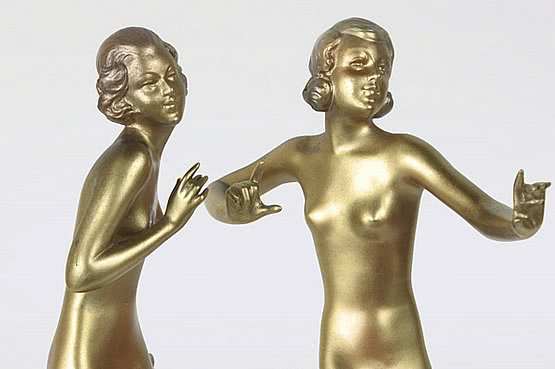lorenzl art deco bronze figures for sale
