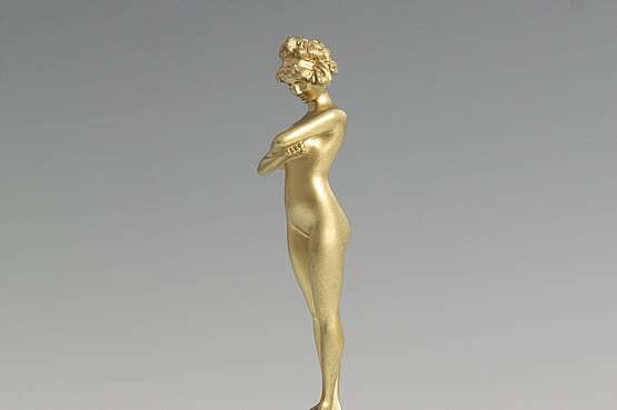 ☑️ 20th Century Decorative Arts |Art Deco Paul Philippe Bronze Sculpture For Sale