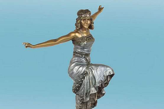 ☑️ 20th Century Decorative Arts |art deco philippe bronze
