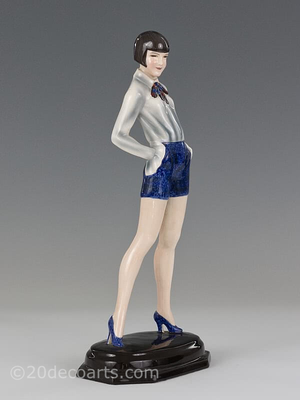 Dakon Goldscheider Art Deco figurine 1930 for sale