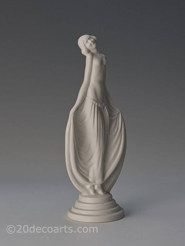 20th Century Decorative Arts | Lucille Sévin for Edmund Etling - An Art Deco figurine