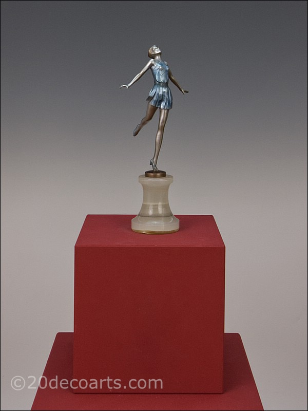Josef Lorenzl Art Deco Bronze  Dancer 1930 1