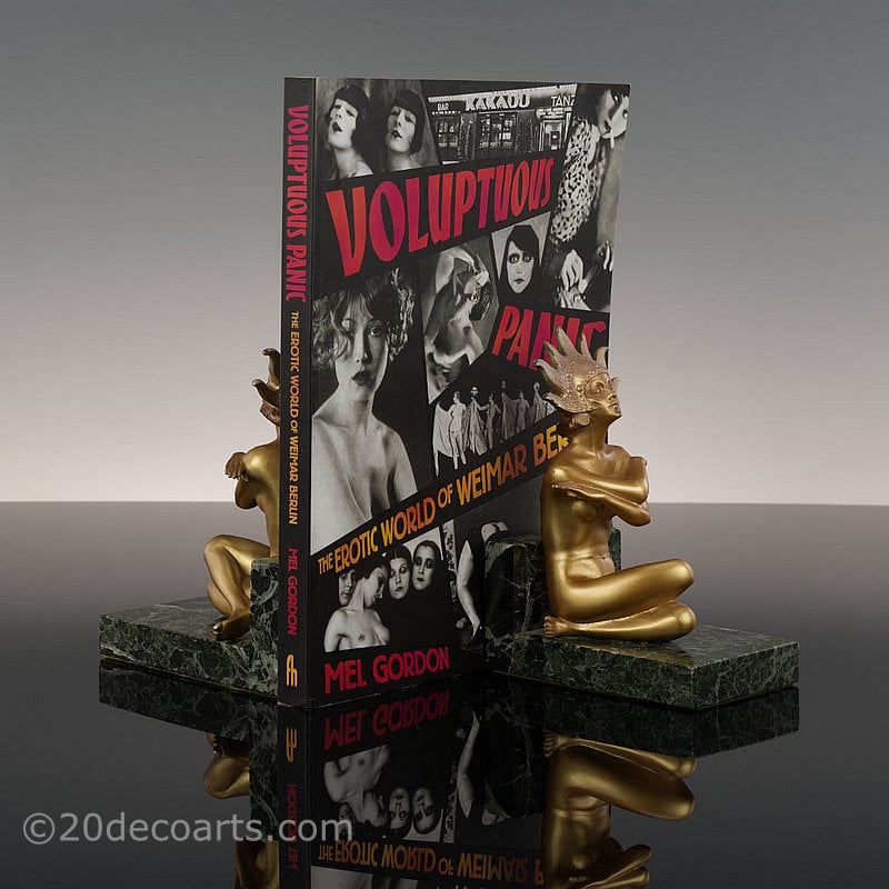 Josef Lorenzl art deco bronze bookends figure for sale