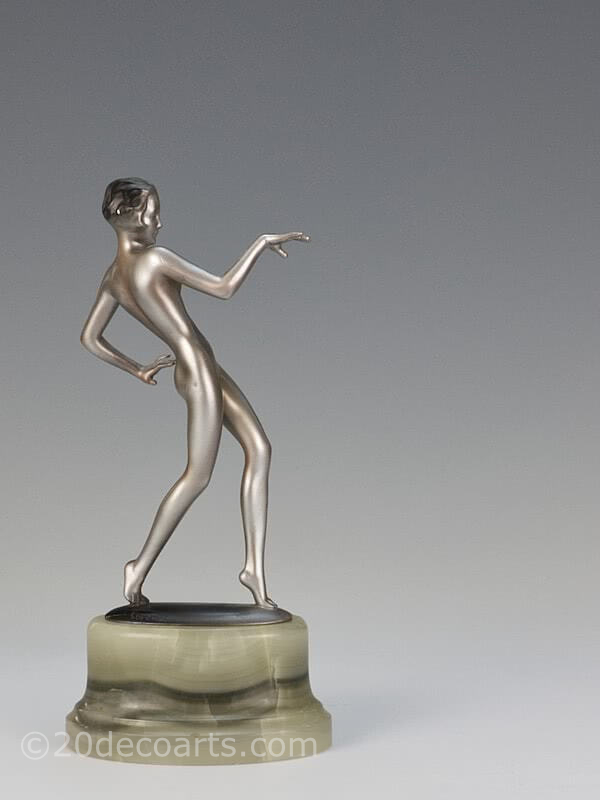 20th Century Decorative Arts |lorenzl art deco bronze