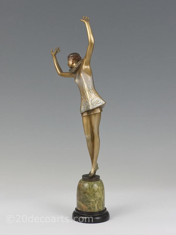 20th Century Decorative Arts |lorenzl bronze for sale