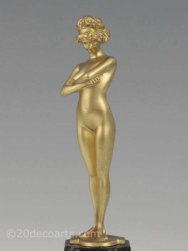 Paul Philippe - An Art Deco bronze figure, France circa 1920s