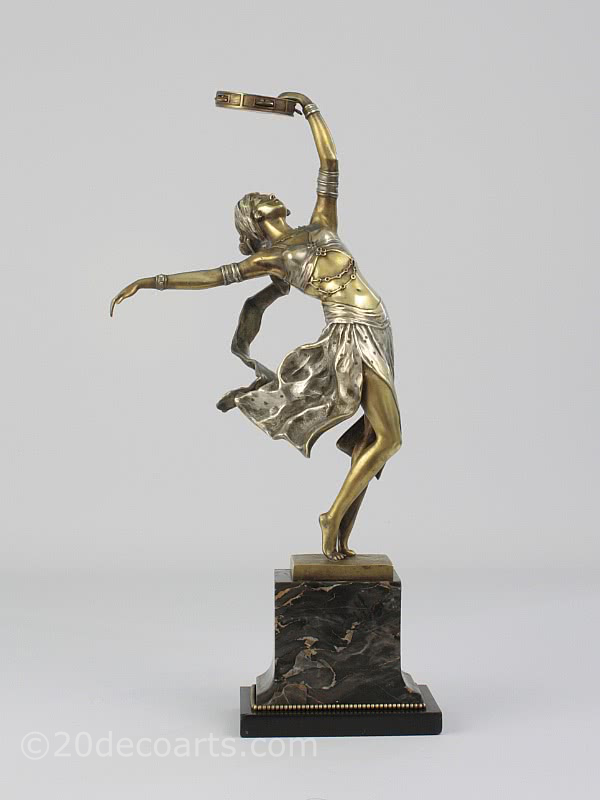 A. Titze- An Art Deco bronze figure, Vienna 1920s