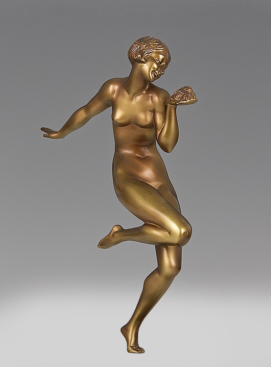 ☑️ art deco bronze statue France | 20th Century Decorative Arts