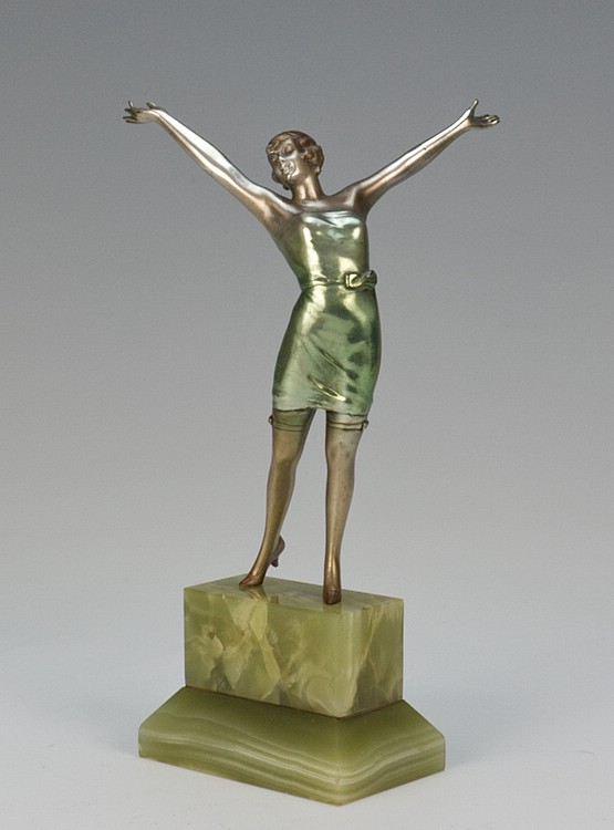 ☑️ josef lorenzl art deco figures and bronzes for sale