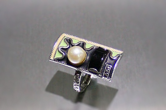☑️ theodor fahrner art deco ring | 20th Century Decorative Arts