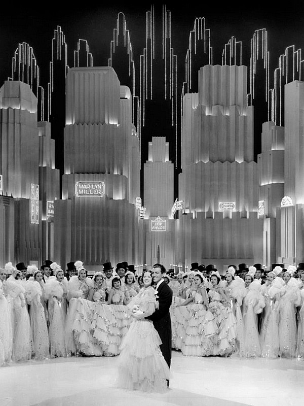 Art Deco Movie Style- BROADWAY MELODY OF 1938MGM, Art Direction:	Cedric Gibbons