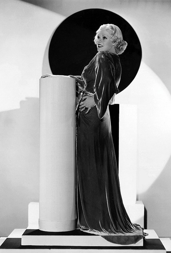 hollywood art deco style - 1930s Alice Faye by Gene Kornman